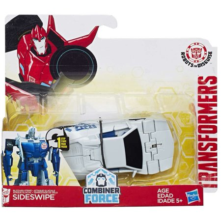 Transformers 1 Step Changers Sideswipe Action Figure [Combiner Force]