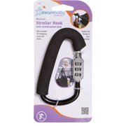 Stroller Carabiner w/Combination Lock Small