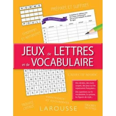 Jeux de lettres et de vocabulaire - eBook - Jeux De Fille Halloween