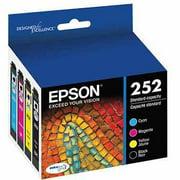 Epson 252 Standard-capacity Black/Color Combo Pack Ink Cartridge