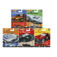 Hot Wheels 2019 Car Culture Silhouttes Series Set of 5 Cars, Premium 1/64 Diecast Model Cars FPY86-956J