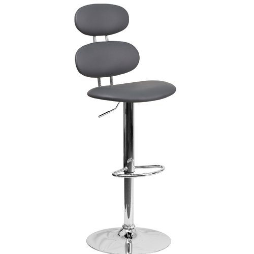 Orren Ellis Norberg Adjustable Height Swivel Bar Stool