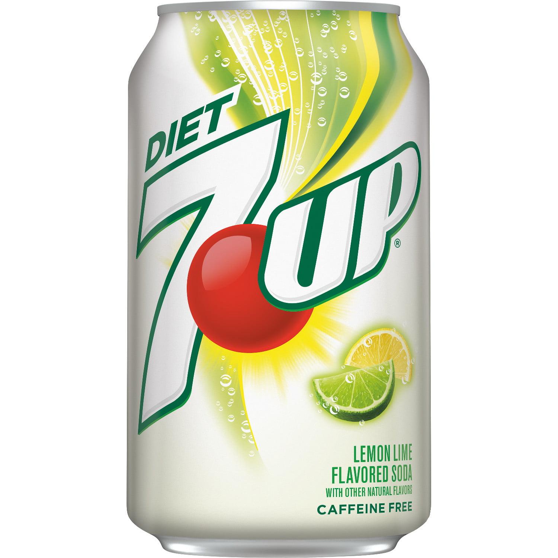 diet 7up lemon lime soda 12 fl oz cans 12 pack walmart com