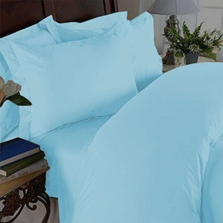 2pc pillow cases 90 gsm microfiber - available in many sizes and many colors , king/cal king , aqua ()