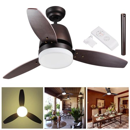 Yescom 42 52inches Bronze Ceiling Fan W Dimmable LED