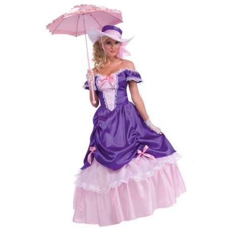 Blossom Southern Belle Women's Adult Halloween Costume, 1 Size - Southern Belle Costume Adult
