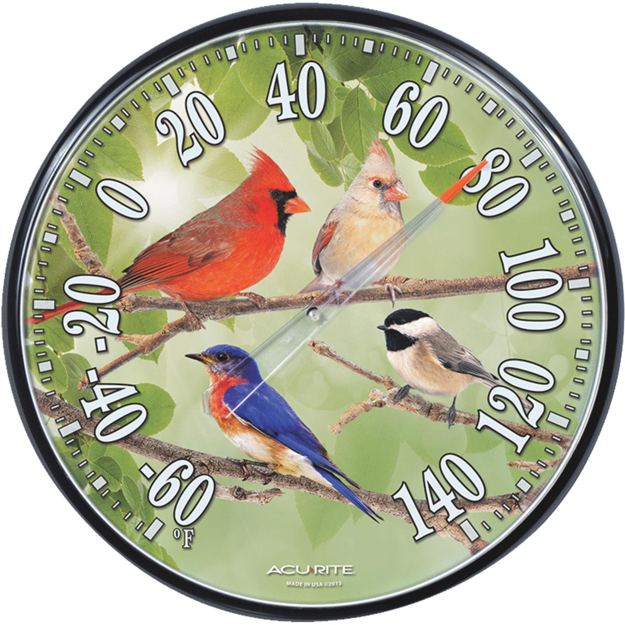 THERMOMETER SONGBIRD 12.5IN