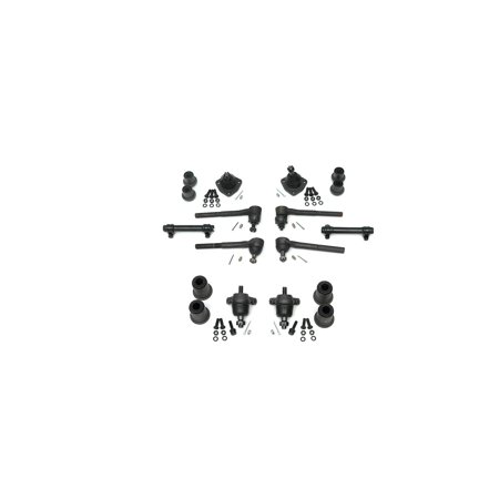 Basic Suspension - Eckler's Premier  Products 40158491 Full Size Chevy Front End Suspension Rebuild Kit Basic