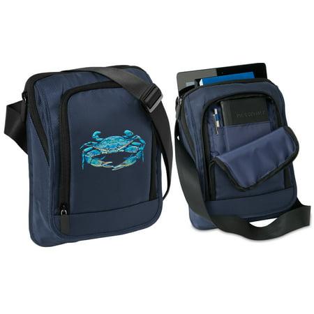 Blue Crab Tablet Bag Blue Crab Tablet Case With Shoulder Strap