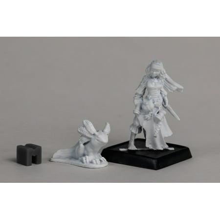 Reaper Miniature Cailleach Deargh, River Widow 03913 Dark Heaven Unpainted Metal