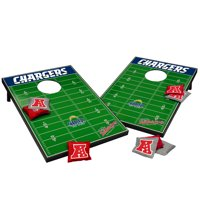Los Angeles Chargers 2' x 3' Cornhole Board Tailgate Toss Set