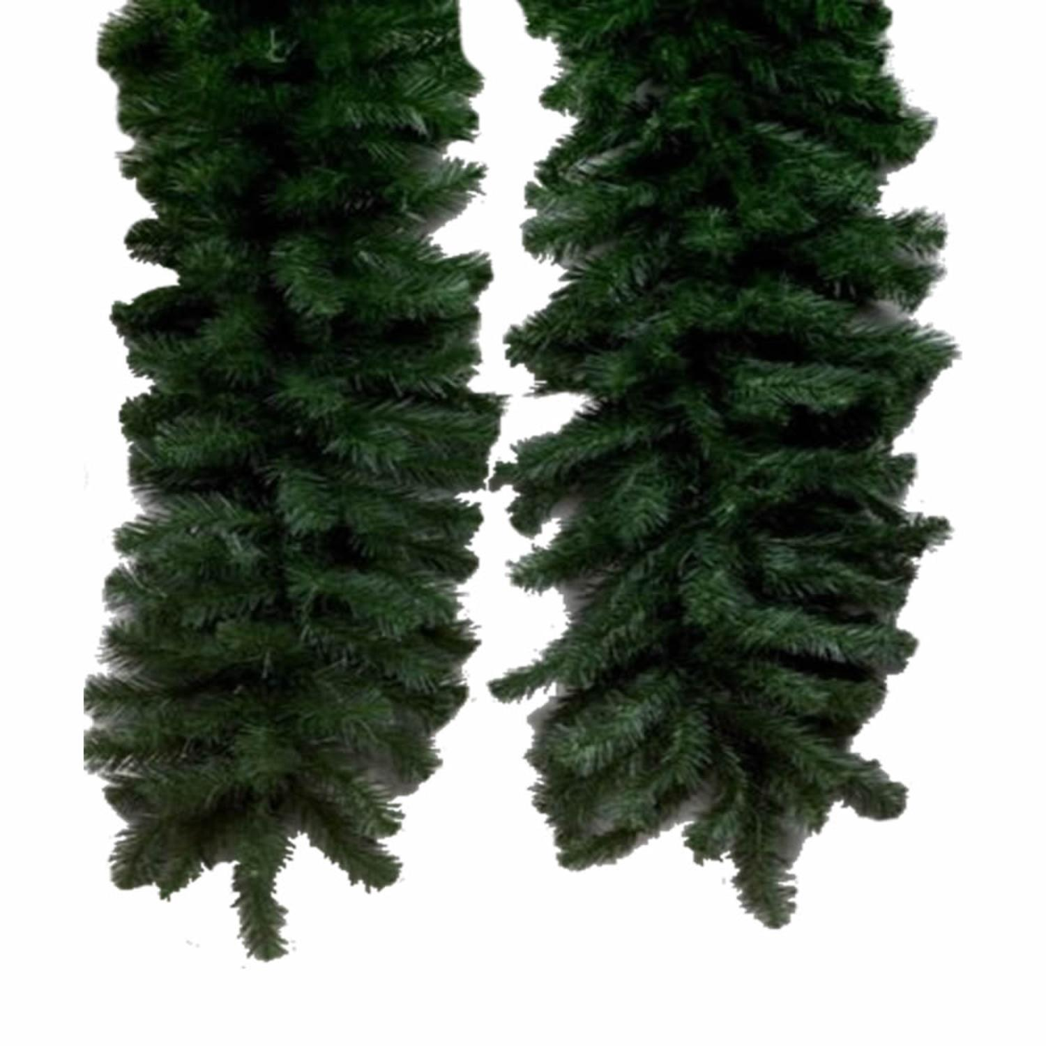 Set of 6 9' Douglas Fir Swag Garland 350 Tips