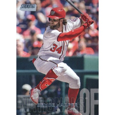 American Baseball Club (2018 Topps Stadium Club #179 Bryce Harper Washington Nationals Baseball Card - *GOTBASEBALLCARDS )