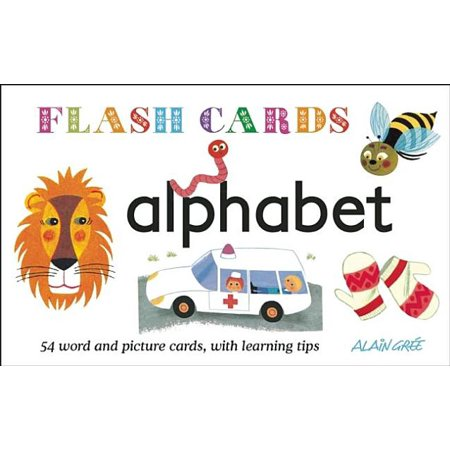 Alphabet - Flash Cards : 54 Word and Picture Cards, with Learning Tips