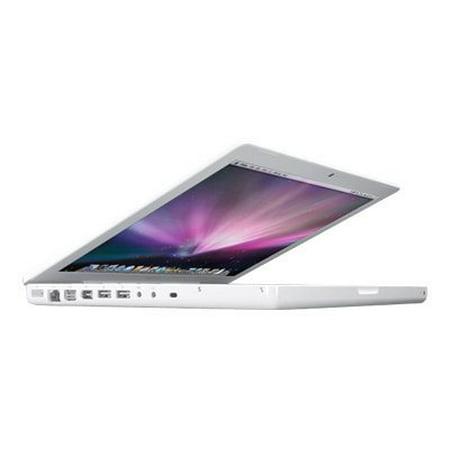 Apple MacBook - Core 2 Duo 2.1 GHz - MacOS X 10.5 - 1 GB RAM - 120 GB HDD - CD-RW / DVD - 13.3