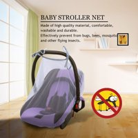 Fugacal Baby Mosquito Net, Infant Car Seat Net,Ventilated Baby Mosquito Net Infant Carriage Stroller Car Seat Cover Protection Tent