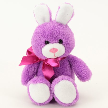 Easter -wal-mart Small Purple Cottontail Bunny