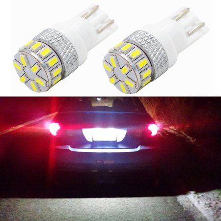 Alla Lighting Extremely Super Bright 194 168 2825 W5w 175 6000K White Led Bulbs For License Plate Tag Interior Map Dome Side Marker Light Lamps Replacement