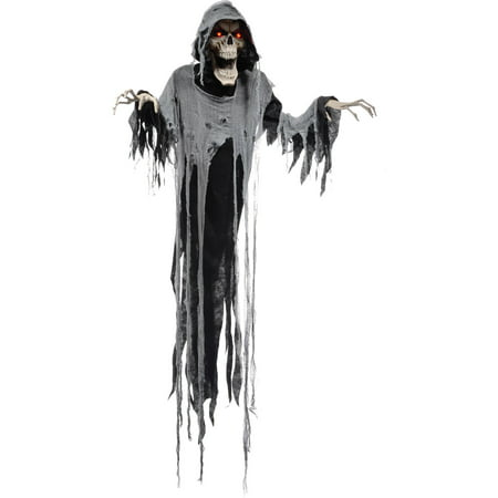 hanging reaper 72 animated halloween decoration - Walmart Halloween Decorations