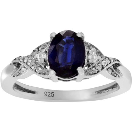 Brinley Co. Women's Kyanite Topaz Sterling Silver Accent Fashion Ring