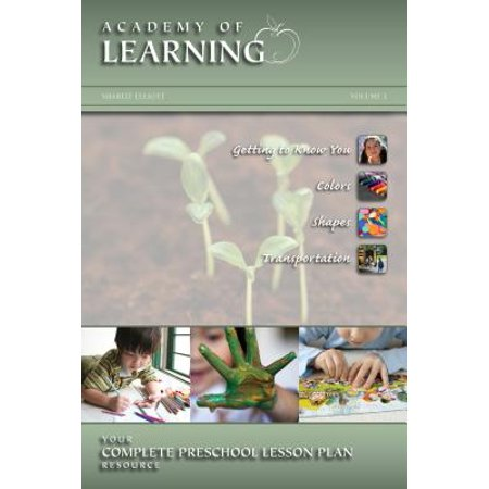 Academy of Learning Your Complete Preschool Lesson Plan Resource - Volume 1 - Halloween High School English Lesson Plans