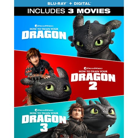How to Train Your Dragon: 3-Movie Collection (Blu-ray + Digital Copy)