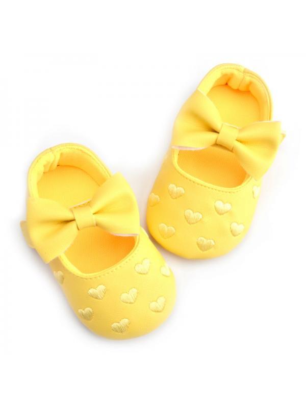 Yellow Baby Shoes - Walmart.com