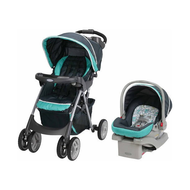 Graco Comfy Cruiser Click Connect Travel System Harvest Walmart