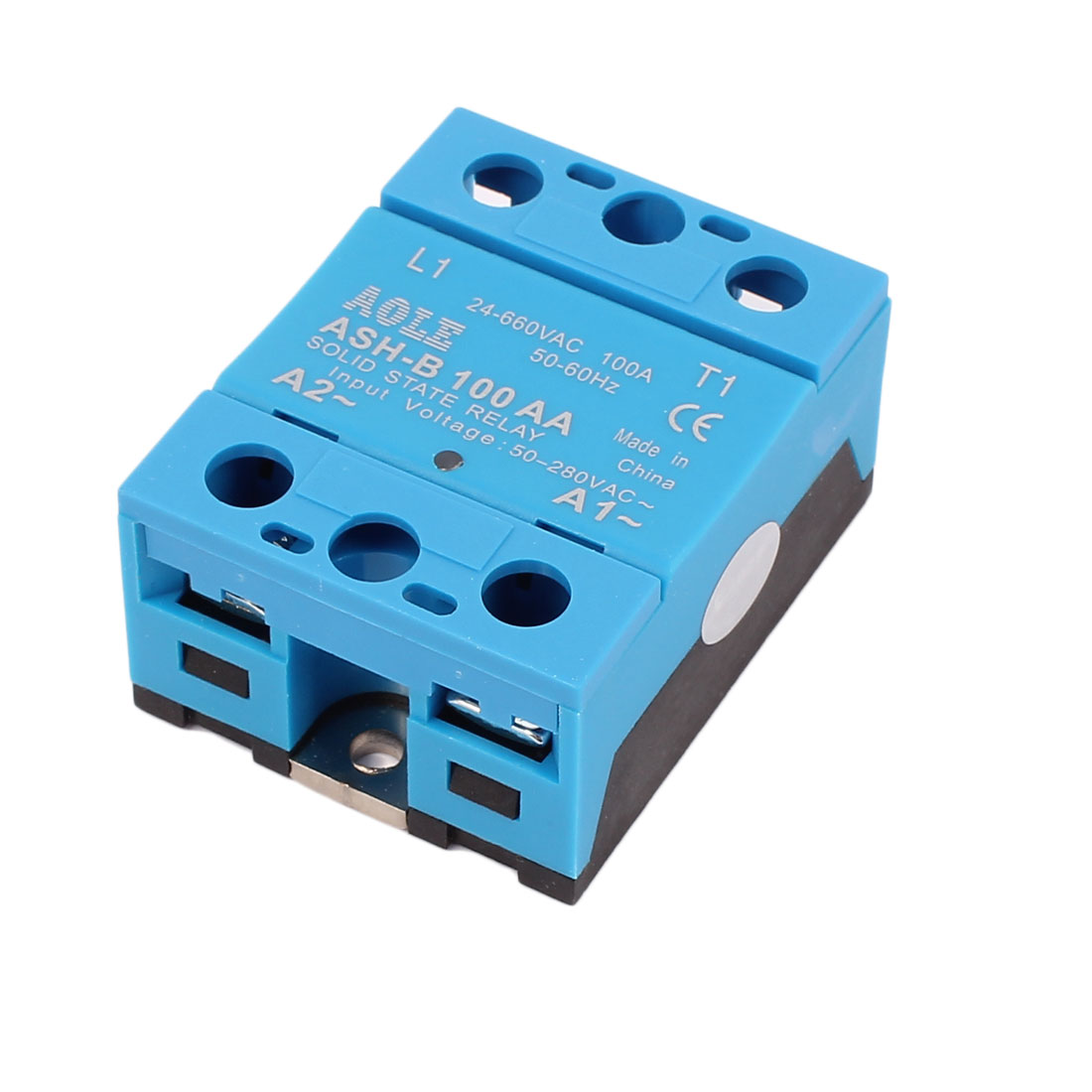 50 280vac To 660vac 100a Single Phase Solid State Relay Ac Basic Of Qty