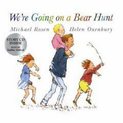 We're Going on a Bear Hunt (Book & CD) (Audio CD)