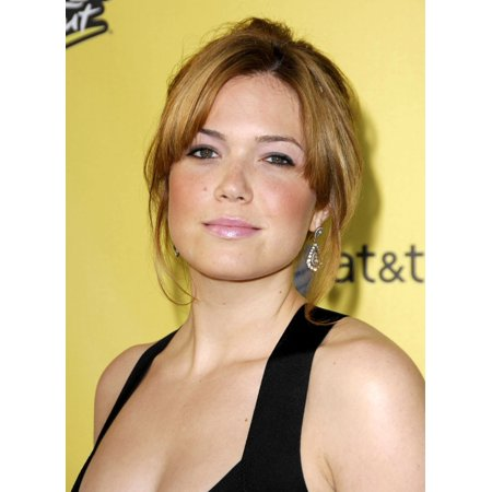 Mandy Moore At Arrivals For Spike Tvs 1St Annual Guys Choice Awards Canvas Art     16 X 20