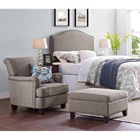 Better Homes And Gardens Grayson Rolled Top Club Chair