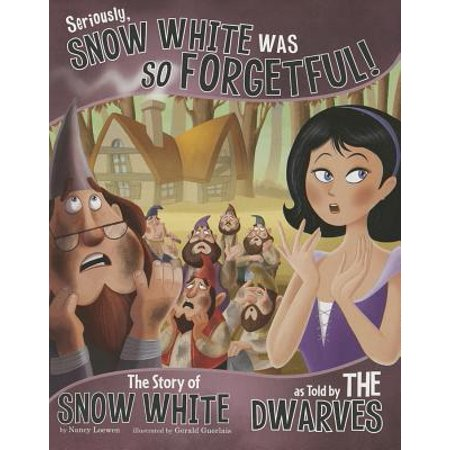 Seriously, Snow White Was So Forgetful! : The Story of Snow White as Told by the Dwarves - Snow White Halloween Tutorial