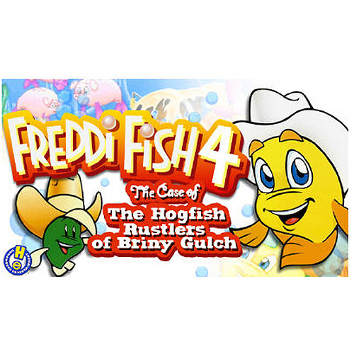 Tommo 58411016 Freddi Fish and the Hogfish Rustlers (PC/MAC) (Digital Code)