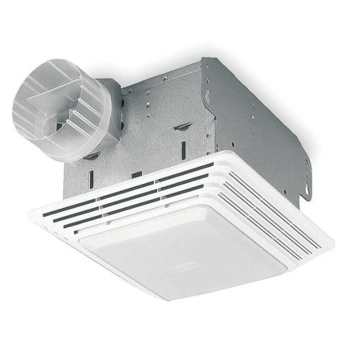 BROAN 678 Bathroom Fan, 50 CFM, 1.6A