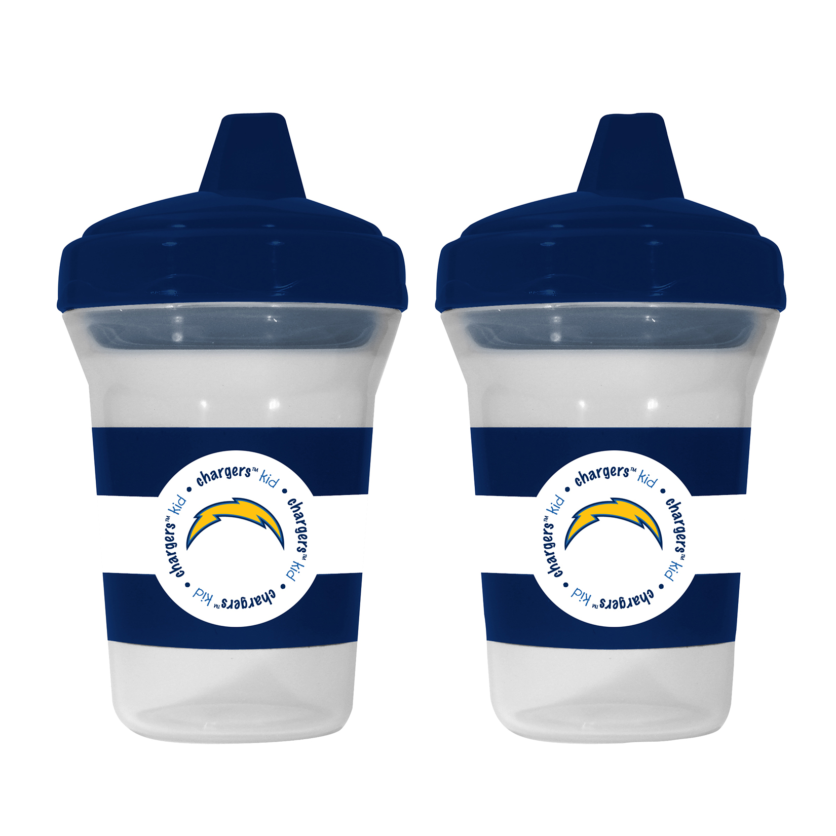 NFL San Diego Chargers 2-Pack Sippy Cups