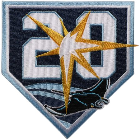 Tampa Bay Rays 20th Anniversary Event MLB Patch - Light Blue - No Size