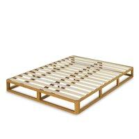 "Zinus Platforma 8"" Wood Bed Frame Mattress Foundation, Multiple Sizes"