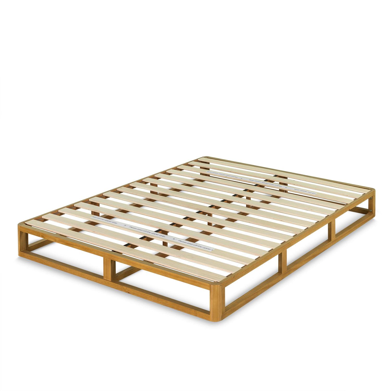 Zinus Platforma 8 Inch Wood Bed Frame Mattress Foundation, Twin Size