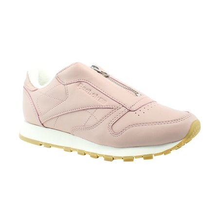 Reebok - Reebok CL Leather Zip Pink Comfort Womens Athletic Shoes Size 5.5  New - Walmart.com ab811d261