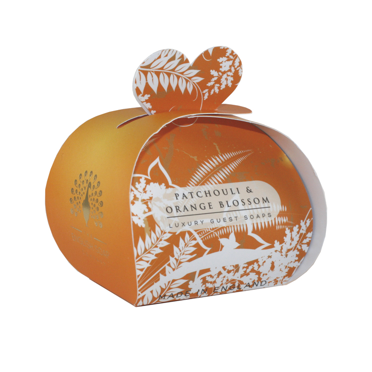 The English Soap Company LUXURY GUEST SOAPS 2.0 oz / 60g  PATCHOULI & ORANGE BLOSSOM For Women By The English Soap Company