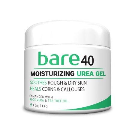 Bare Urea 40  Percent Cream Gel For Hands  Feet  Elbows And Knees   Corn   Callus Remover   Skin Exfoliator   Moisturizer   Repairs Thick  Callused  Dead And Dry Skin