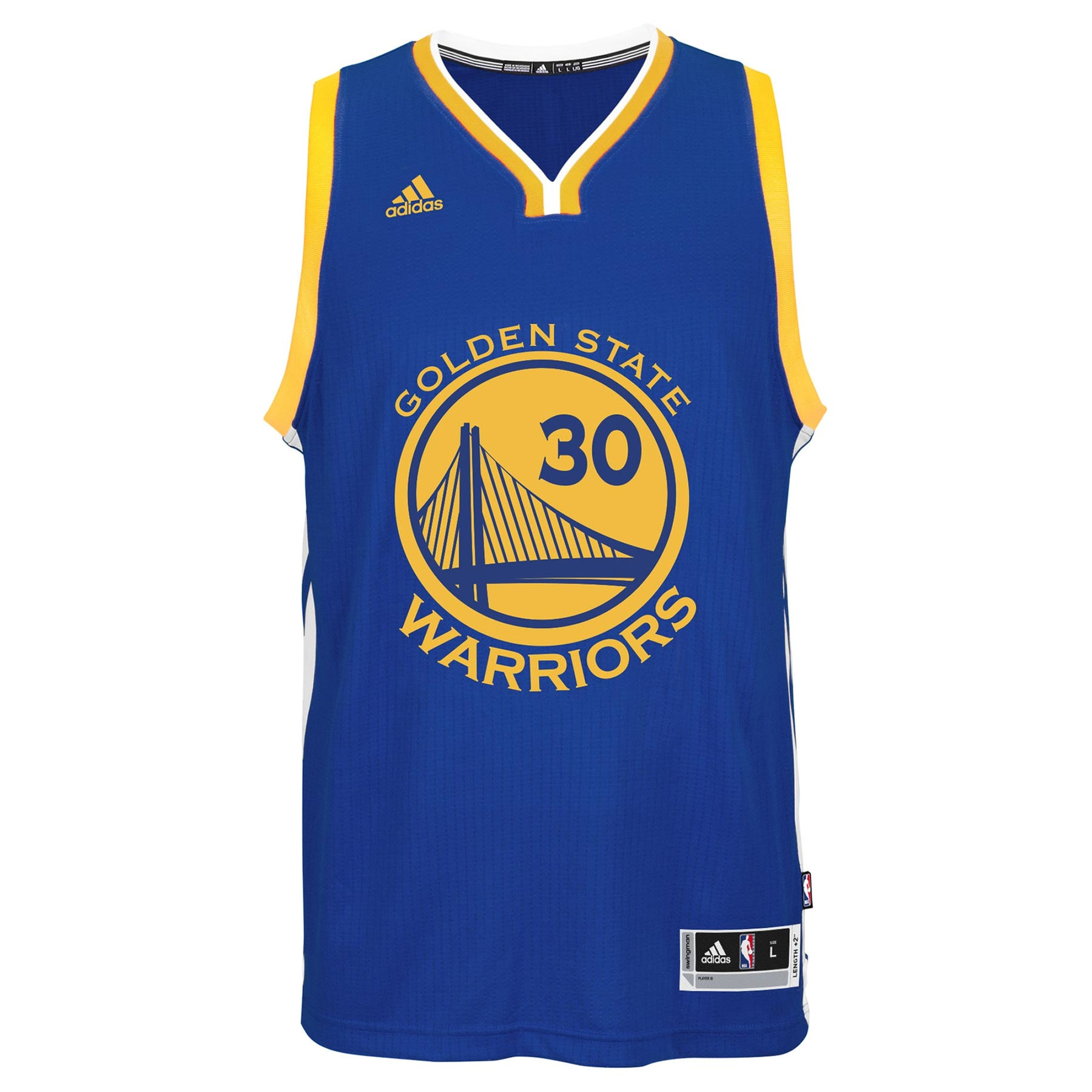reputable site d87e2 35231 Stephen Curry Golden State Warriors NBA Swingman Road ...