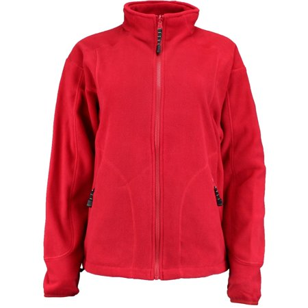 - River's End Womens Microfleece Jacket  Athletic  Jacket -