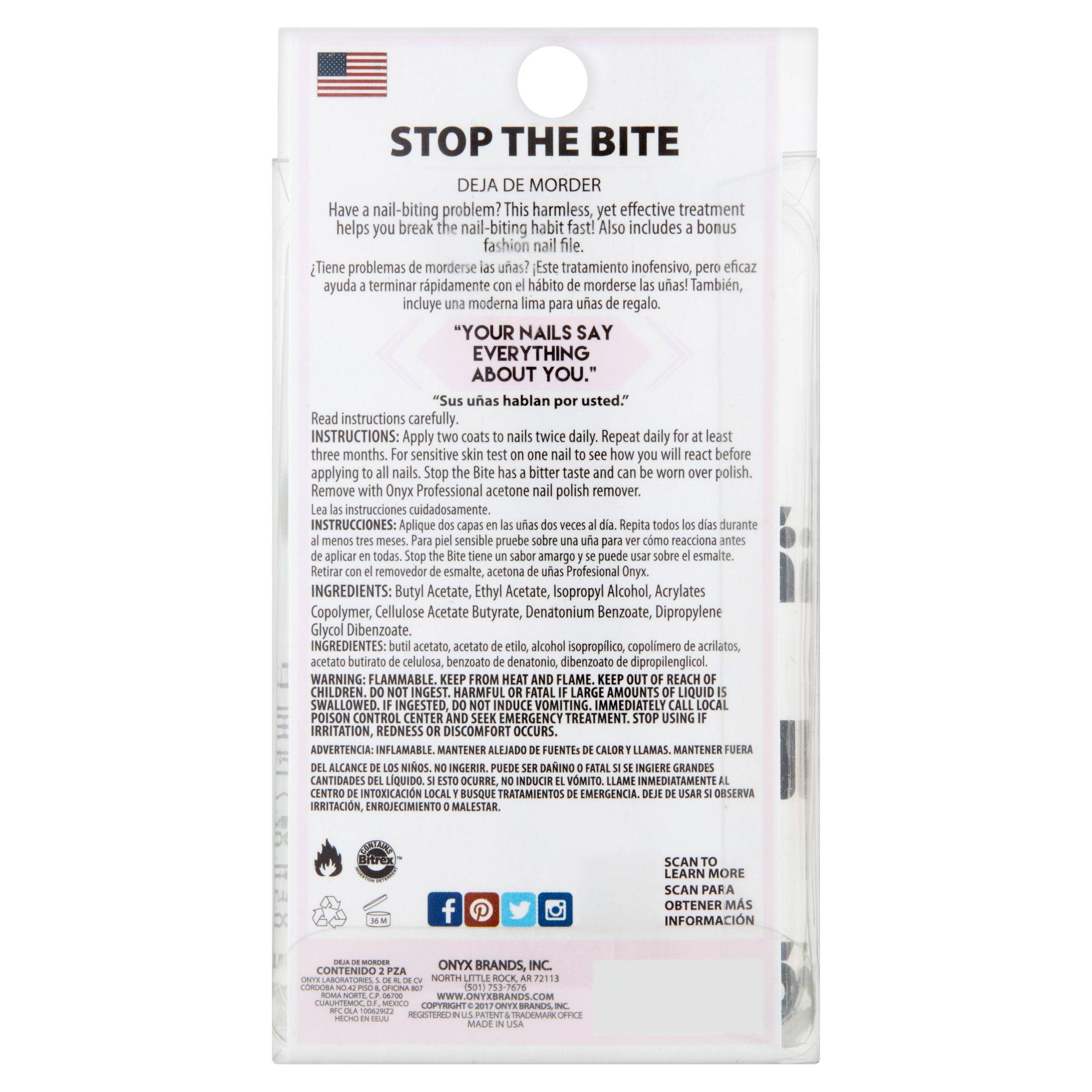 Hoof Hands Kick the Habit Nail-Biting Deterrent, 0.5 fl oz - Walmart.com