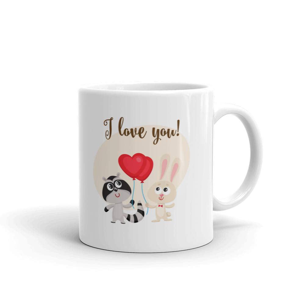 I Love Heart Rice Mug