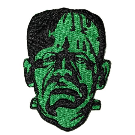 Universal Monsters Frankenstein Head Embroidered Patch](Frankenstein Head Piece)
