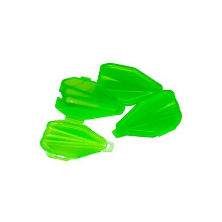 LimbSaver Fixed/Expandable 3 Blade Broadhead Pod (Pack of 3), Green