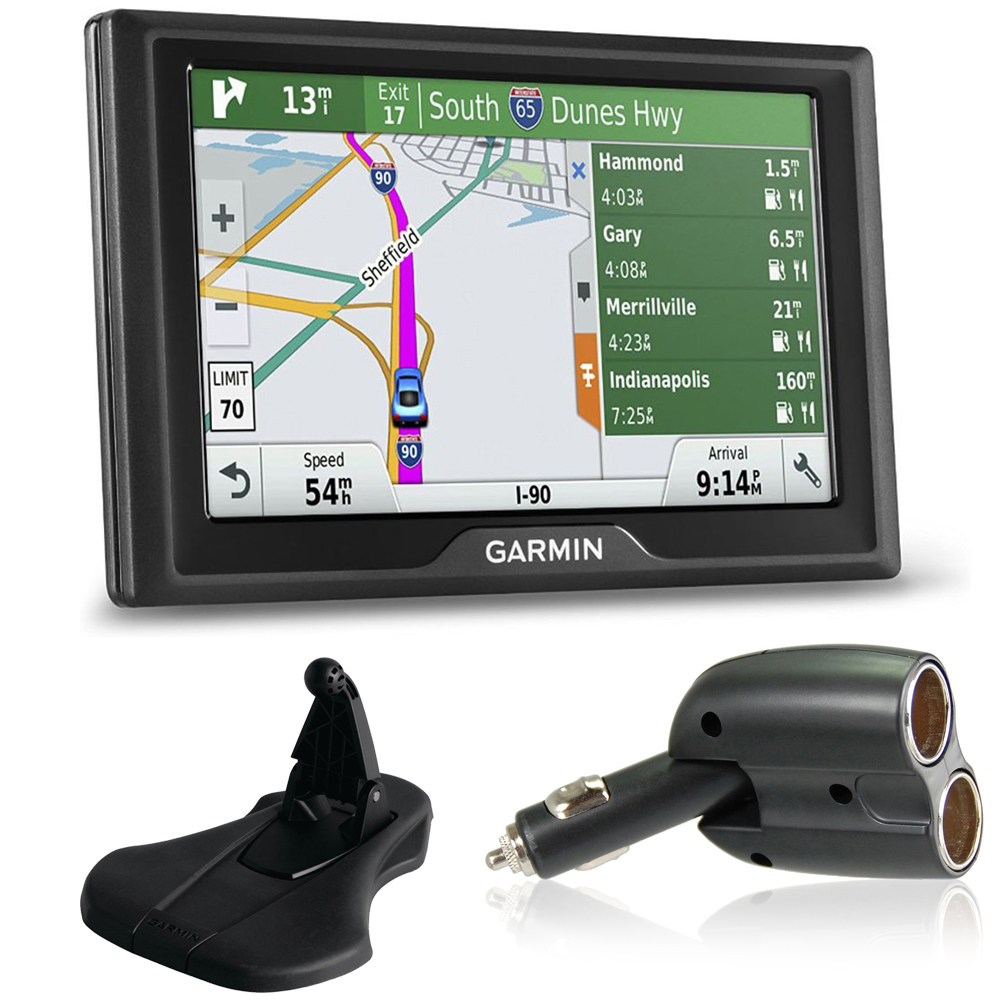 how to use garmin portable friction mount