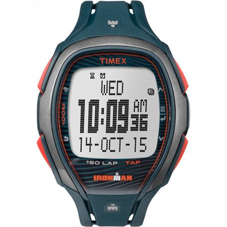 Timex IRONMAN Sleek 150 Resin Strap |Blue| Sport Watch - Timex Sports Wrist Watch